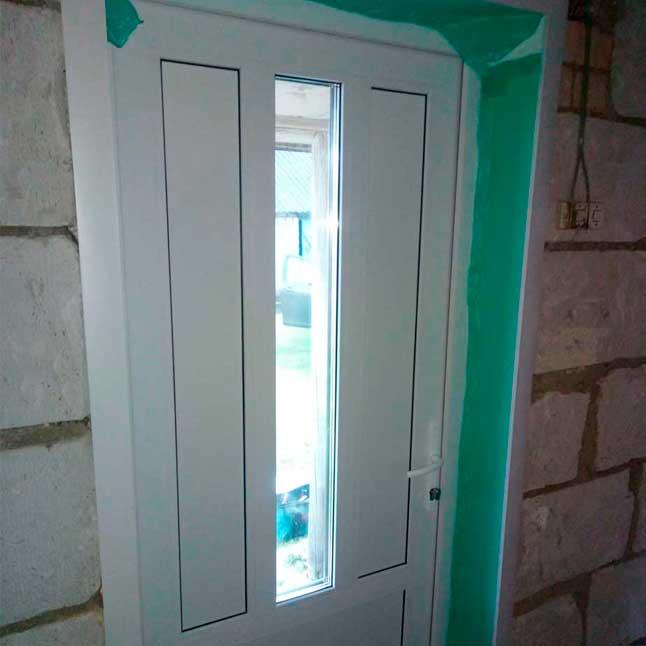 Пример работы по дверям