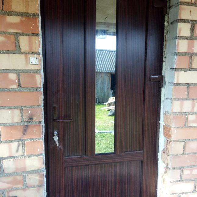 Пример работы по дверям ПВХ